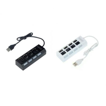 PORT HUB USB 4X DO BIUREK GAMINGOWYCH DAMING